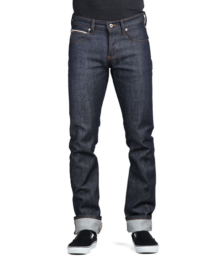 Naked and Famous Denim Skinny Guy-Dirty Fade Selvedge