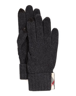 Burberry Cashmere Smart Gloves