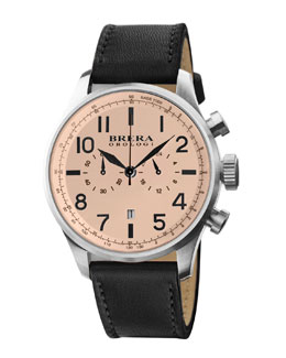 Brera Brera Classico Watch, Cream