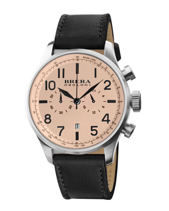 Brera Classico Watch, Cream
