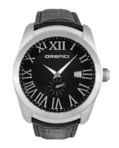 Orefici Watches Classico Watch, Black