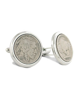 David Donahue Buffalo Nickel Cuff Links