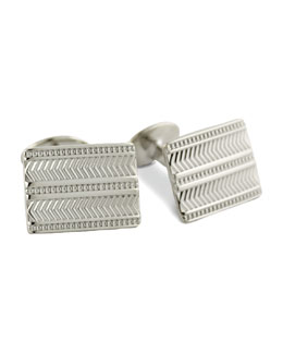 David Donahue Chevron Cuff Links
