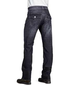 True Religion Ricky Faded Indigo Jeans