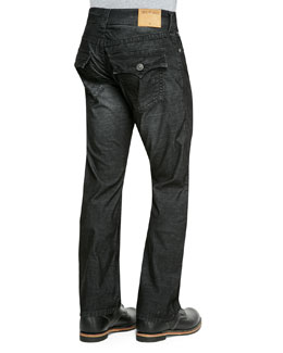 True Religion Ricky Corduroy, Black