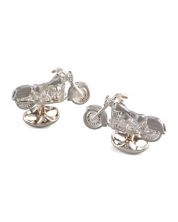 Deakin & Francis Motorcycle Cuff Links