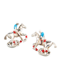 Deakin & Francis Polo Rider Cuff Links