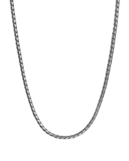 "David Yurman Chain Necklace, 26""L, 4mm"