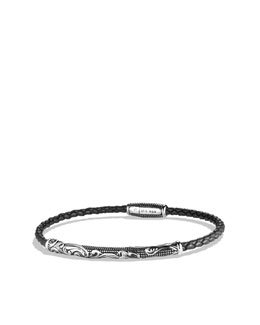 David Yurman Waves Bracelet in Black
