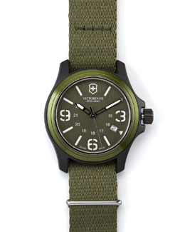 Victorinox Swiss Army Original Watch, Green