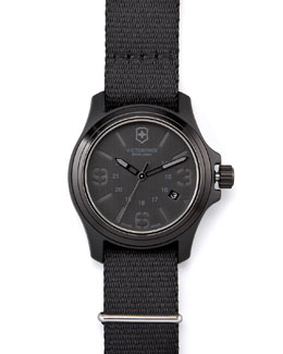 Victorinox Swiss Army Original Watch, Black