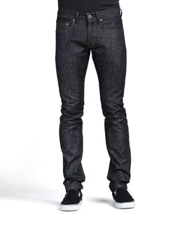 J Brand Jeans Tyler Raw Selvedge Jeans