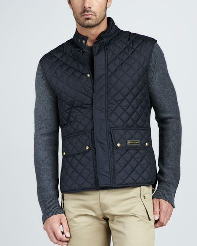 Belstaff Quilted Two-Pocket Vest