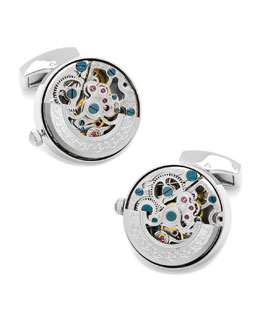 Ravi Ratan Vintage Watch Cuff Links