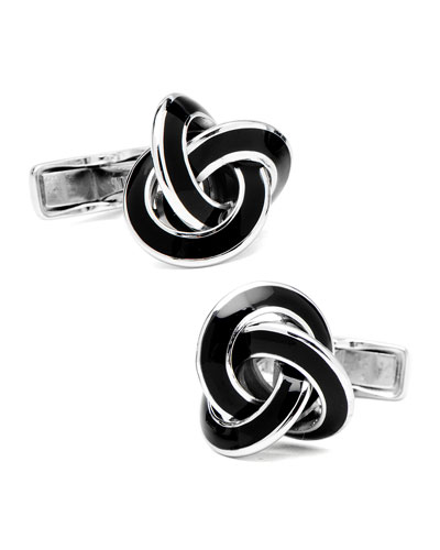 Cufflinks Inc. Enamel Knot Cuff Links