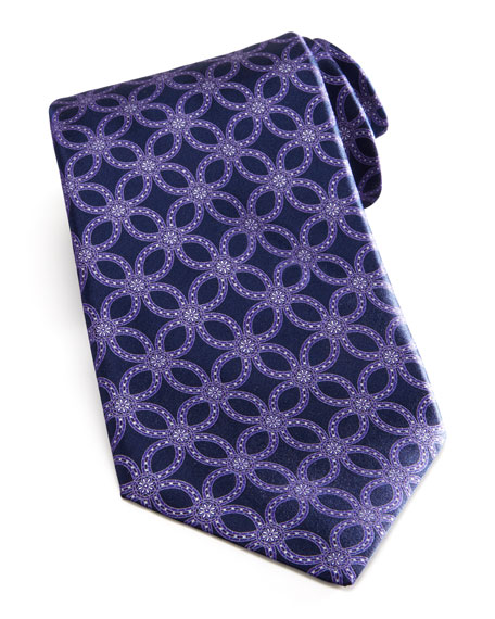 Large Flower Tie