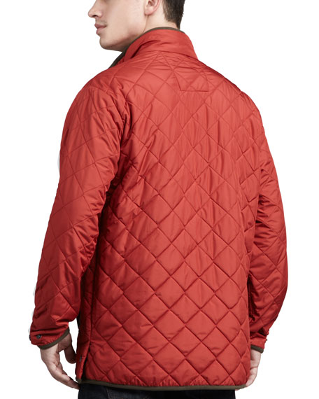 Chesapeake Quilted Jacket, Rust
