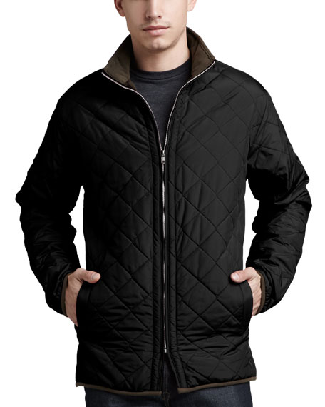 Chesapeake Quilted Jacket, Black