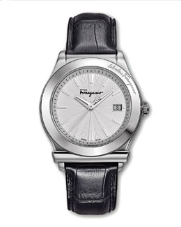 Salvatore Ferragamo Classic Watch, Black