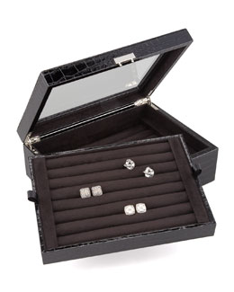 Ravi Ratan Double-Layer Cuff-Link Box