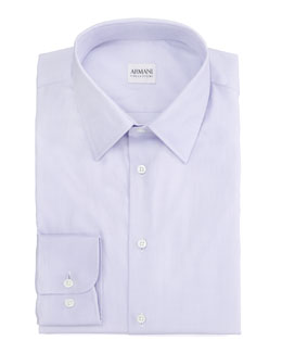 Armani Collezioni Basic Dress Shirt, Lavender