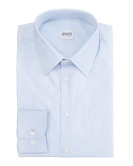Armani Collezioni Modern Fit Dress Shirt, Blue