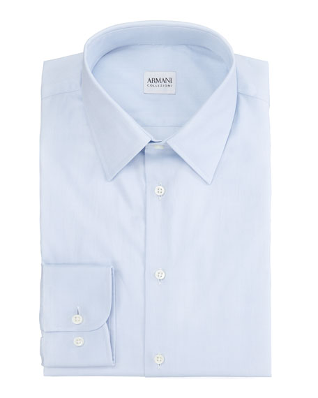 Modern Fit Dress Shirt, Blue