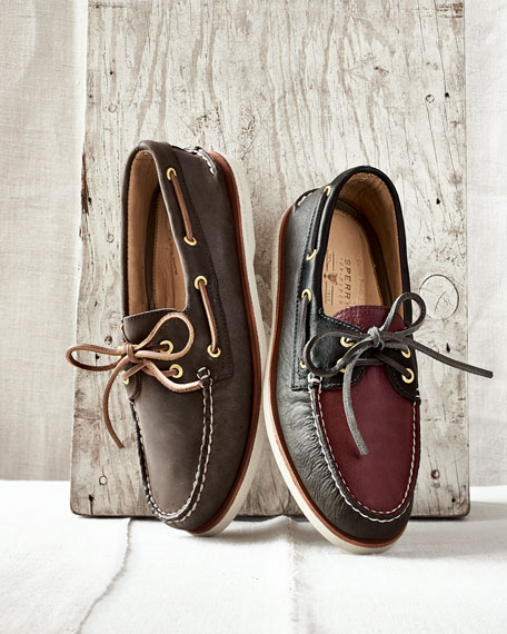Gold Cup Authentic Original Boat Shoe, Brown