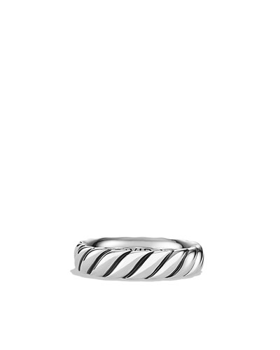 David Yurman Cable Narrow Band Ring