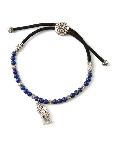 Naga Charm Lapis Bracelet