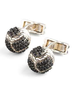 John Hardy Braid Ball Cuff Links