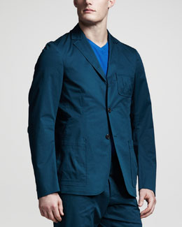 Jil Sander Stretch-Cotton Blazer
