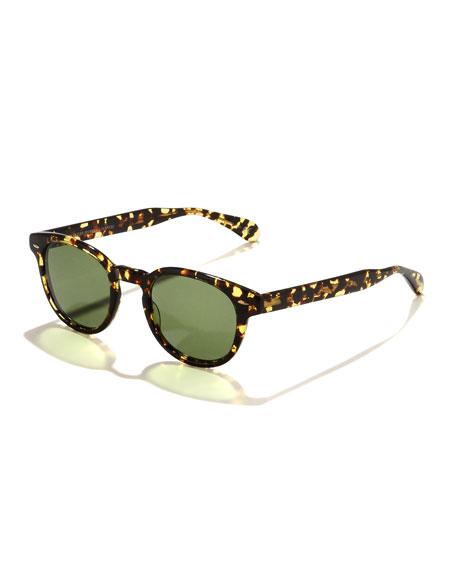 Sheldrake Round Plastic Sunglasses