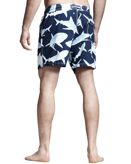 Moorea Shark Swim Trunks