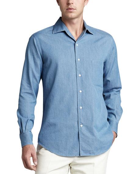 Andre Chambray Shirt