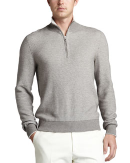 Loro Piana Falkville Half-Zip Sweater