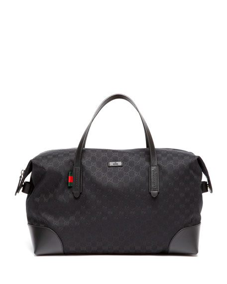 GG Canvas Carry-On Duffel Bag