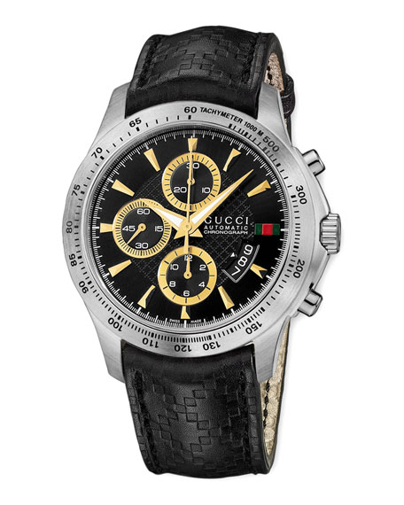 G-Timeless Diamante Chronograph Watch