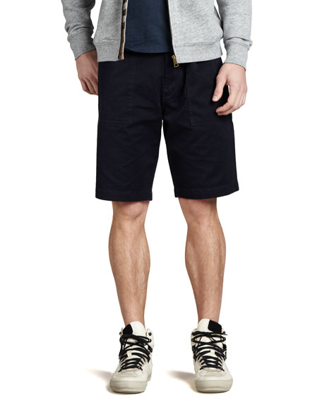 Cotton Shorts, Military Navy