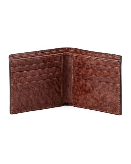 Men's Logo Bifold Wallet, Tobacco