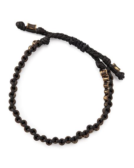 Woven Rivet Bracelet