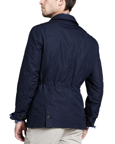 Water-Repellant Safari Jacket