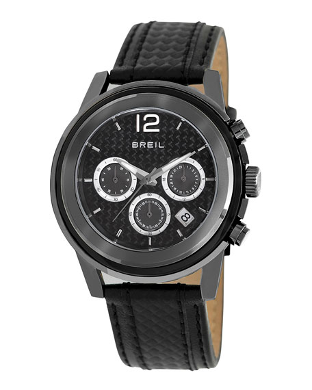 Orchestra Carbon Fiber-Strap Chronograph Watch