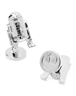Star Wars R2D2 Cuff Links
