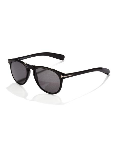 Flynn Sunglasses, Black