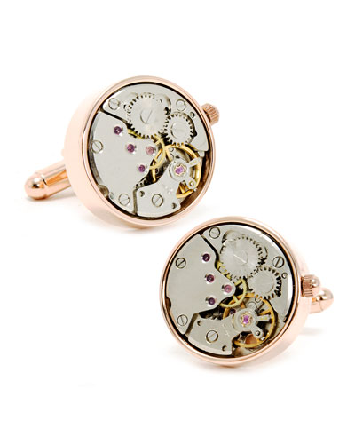 Cufflinks Inc. Watch Movement Cuff Links