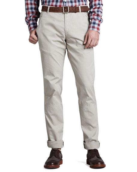 Cotton Aviator Pants