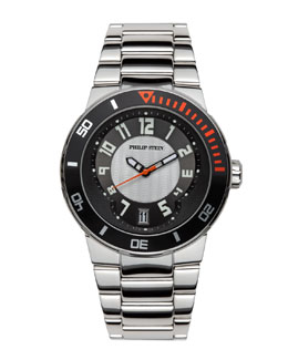 Philip Stein Extreme Stainless Steel Watch