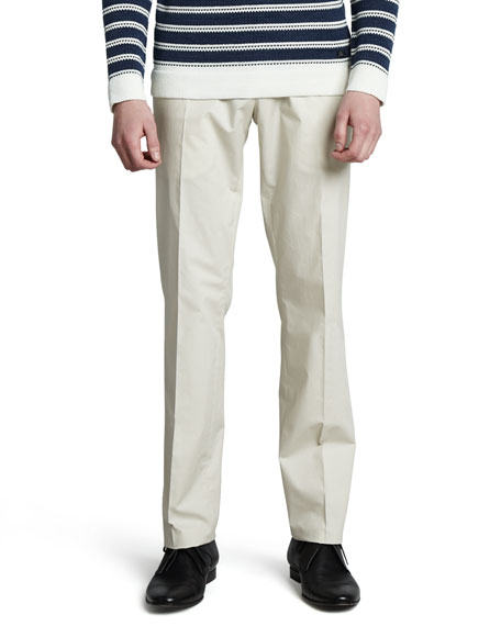Lightweight Poplin Pants