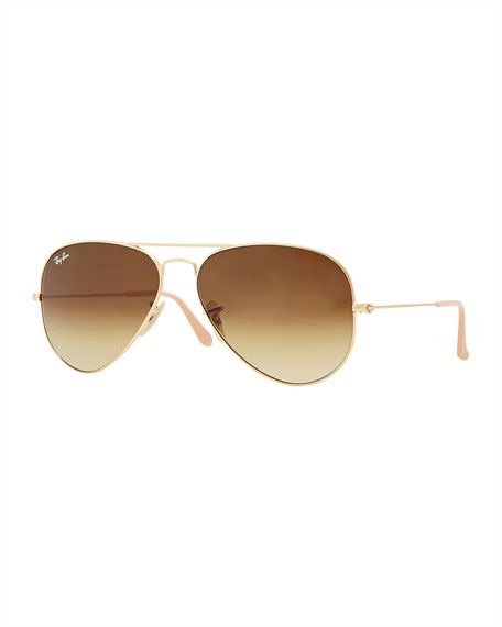 original aviator glasses  Ray-Ban Original Aviator Sunglasses, Gold/Brown